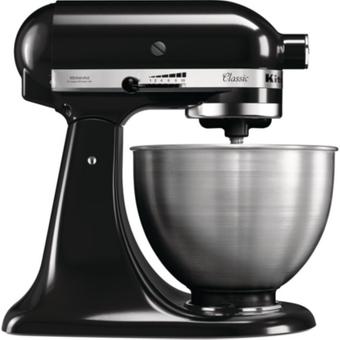 KitchenAid CLASSIC 5K45SSEOB Küchenmaschine onyx schwarz