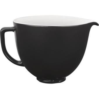 KitchenAid 5KSM2CB5BM Keramikschüssel 4,7L schwarz weiss