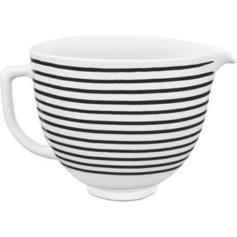 KitchenAid 5KSM2CB5PHS Keramische Schüssel Horizontal Stripes