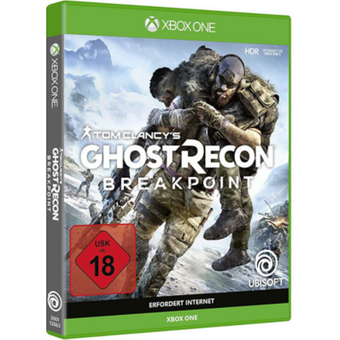Microsoft Ghost Recon Breakpoint Xbox One USK18