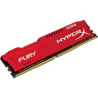 16GB 1x16GB HyperX Fury rot DDR4-2933 CL17 RAM Gaming Arbeitsspeicher