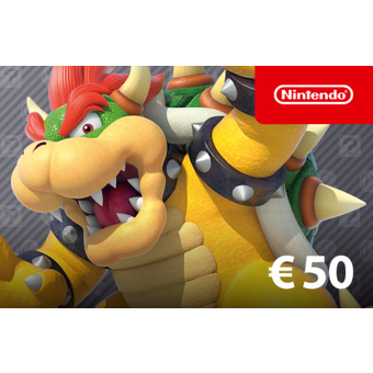 Nintendo eShop Guthaben 50