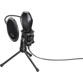 Hama MIC-USB Stream Mikrofon für PC und Notebook
