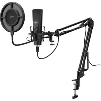 Hama Stream 800 HD Studio Mikrofon für PC und Notebook