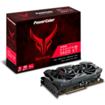 PowerColor AMD Radeon RX 5600 XT Red Devil 6GB GDDR6 HDMI 3xDP Grafikkarte
