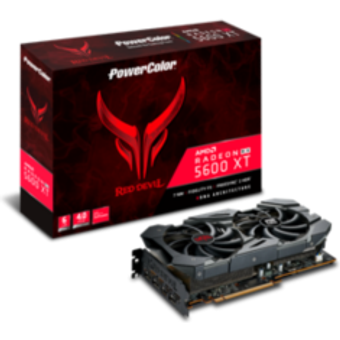 PowerColor AMD Radeon RX 5600 XT Red Dragon 6GB GDDR6 HDMI 3xDP Grafikkarte
