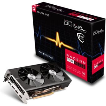 Sapphire AMD Radeon RX 570 Pulse OC 4GB Grafikkarte 2xHDMI 2xDP