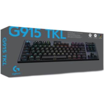 Logitech Gaming Logitech G915 TKL LIGHTSPEED Clicky Kabellose Mechanische RGB Gaming Tastatur