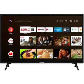 Telefunken XH32AJ600 81cm 32 DVB-T2HD C S2 600 CMP Android TV schwarz