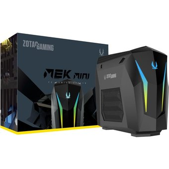 ZOTAC MEK MINI GM207SC7R1B Mini-PC 1 x Core i7 9700 3 GHz RAM 16GB SSD 240GB NVMe, HDD 2TB GF RTX 2070 Super GigE, Bluetooth 5,0 WLAN 802,11ac, Bluetooth 5,0 Win 10 Home 64-Bit Monitor keiner GM207SC7R1B-BE-W3B