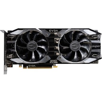 EVGA GeForce RTX 2080 SUPER XC ULTRA GAMING Grafikkarten GF RTX 2080 Super 8GB GDDR6 PCIe 3.0 x16 HDMI, 3 x DisplayPort, USB-C 08G-P4-3183-KR