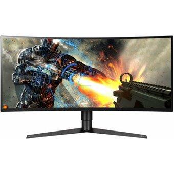 LG UltraGear 34GK950G 86 cm 34 Zoll , LED, Ultra QHD, Nvidia G-Sync, 120 Hz, DisplayPort