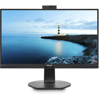 Philips 241B7QUBHEB 61 cm 24 Zoll , LED, IPS-Panel, Pop-up-Webcam, Höhenverstellung, USB-C