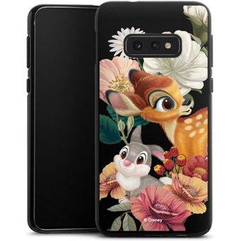 DeinDesign Handyhülle Bambi, Klopfer transparent Samsung Galaxy S10e, Hülle Bambi Disney Klopfer