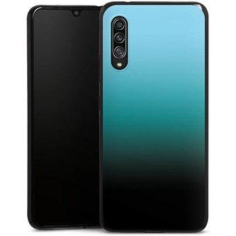 DeinDesign Handyhülle Modern Darkness Samsung Galaxy A90 5G, Hülle zweifarbig Farbverlauf Thermomixmotive