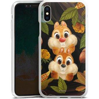 DeinDesign Handyhülle Chip and Chap Apple iPhone Xs, Hülle Disney Chip und Chap Offizielles Lizenzprodukt