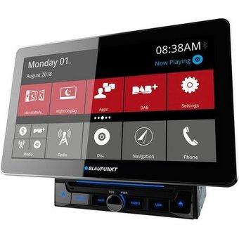 Blaupunkt Audio-System BLAUPUNKT HAMBURG 990 DAB Nav Car Multimedia High-End im Tabletformat, Navi DAB Bluetooth Autoradio