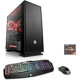 CSL Gaming PC, Ryzen 9 3950X, RTX 2070S, 32 GB DDR4, SSD HydroX T8321 Wasserkühlung