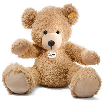 Steiff Kuscheltier Teddy Fynn beige, 80 cm