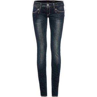 Herrlicher Slim-Fit-Jeans mit modischer Waschung Piper