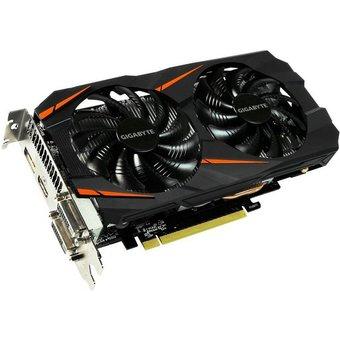 GIGABYTE Grafikkarte GeForce GTX 1060 WINDFORCE OC 6GB GV-N1060WF2OC-6GD