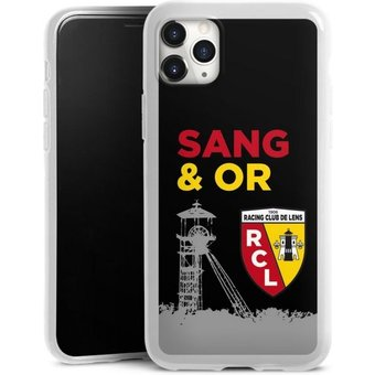 DeinDesign Handyhülle Tower Sang Or Apple iPhone 11 Pro Max, Hülle Offizielles Lizenzprodukt RCL Racing Club de Lens