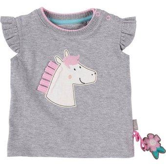 Sigikid Baby T-Shirt für Mädchen, Pferd, Organic Cotton