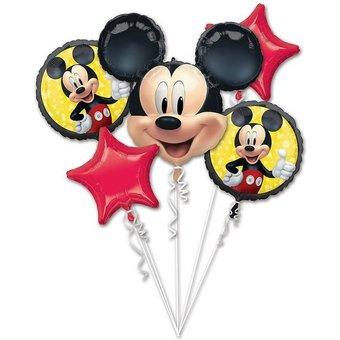 Amscan Folienballon-Bouquet Mickey Maus Forever