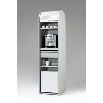 MS-Schuon Rolladenschrank Kaffeeschrank optional mit Kühlschrank KLENK COLLECTION
