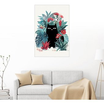 Posterlounge Wandbild littleclyde Popoki