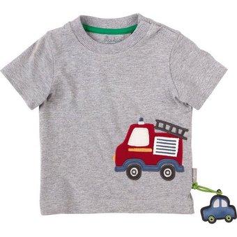 Sigikid Baby T-shirt für Jungen, Feuerwehr, Organic Cotton