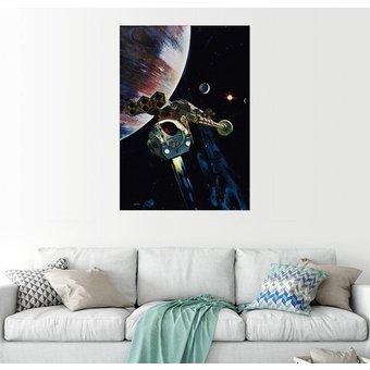 Posterlounge Wandbild 2001 Odyssee im Weltraum