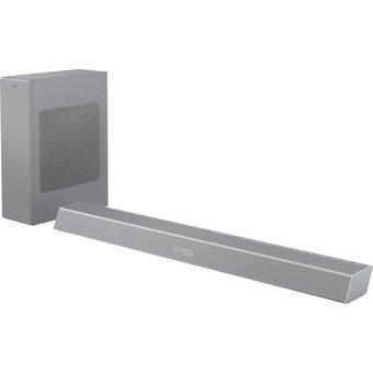 Philips TAB8805 3.1 Soundbar Bluetooth, WLAN, 300 W, mit kabellosem Subwoofer