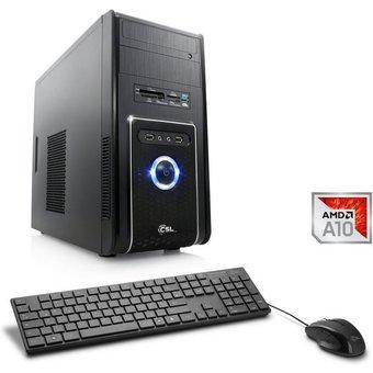 CSL Multimedia PC, AMD A10-9700, Radeon R7, 8 GB DDR4 RAM Sprint T4932 Windows 10 Home