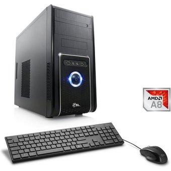 CSL Multimedia PC, AMD A8-9600, Radeon R7, 4 GB DDR4 RAM Sprint T4111 Windows 10 Home
