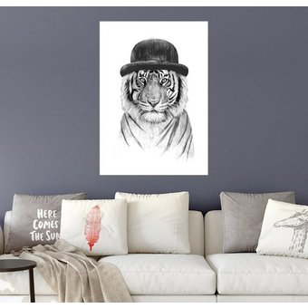 Posterlounge Wandbild Balazs Solti Willkommen im Jungle