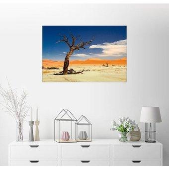 Posterlounge Wandbild Jürgen Klust In der Wüste Namib