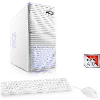 CSL Multimedia PC, AMD A10-9700, Radeon R7, 16 GB DDR4 RAM, SSD Sprint T4665 Windows 10 Home