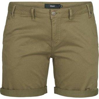 Zizzi Shorts Damen Grosse Grössen Sommer Shorts Straight Fit Kurze Hose Sommerhose