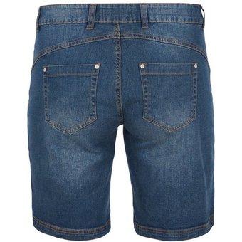 Zizzi Jeansshorts Damen Jeans Shorts Regular Kurze Hose Denim Sommerhose Grosse Grössen