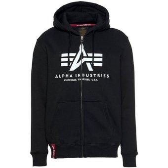 Alpha Industries Kapuzensweatjacke BASIC ZIP HOODY