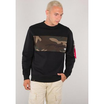 Alpha Industries Sweatshirt Camo Bar Sweater