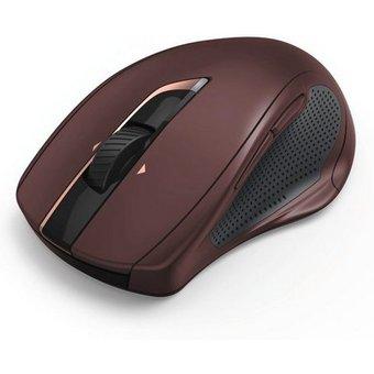 Hama PC Funk Maus, kabellose Laser Computermaus, Auto-dpi Silent MW-800, 7 Tasten, kompakt