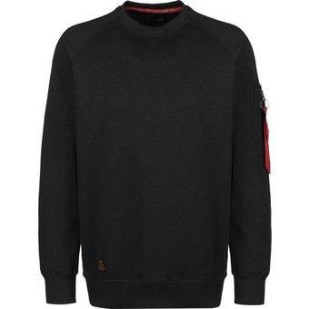 Alpha Industries Sweatshirt Solid Crew Neck
