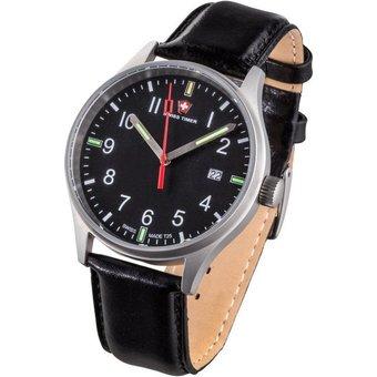 Swiss Timer Armbanduhr Classic H3 5ATM mit 2 Armbändern