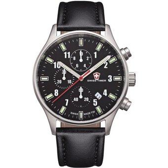 Swiss Timer Armbanduhr Classic Chrono