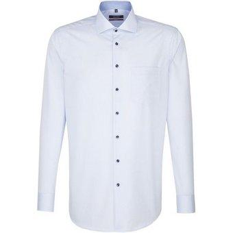 seidensticker Businesshemd Regular Regular Langarm Kentkragen Uni