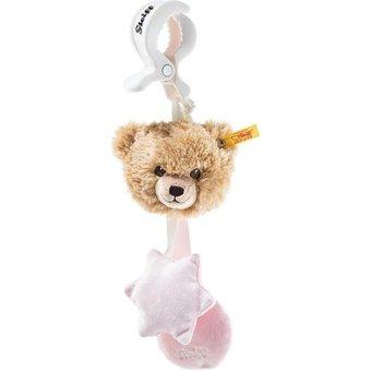 Steiff Schlaf Gut Bär 20 cm beige rosa