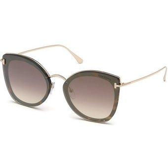 Tom Ford Damen Sonnenbrille Charlotte FT0657