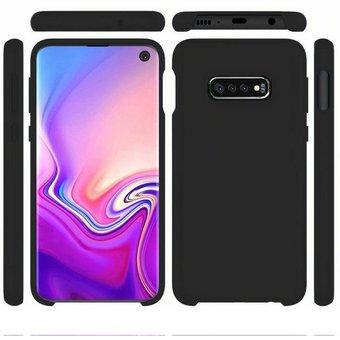 PEDEA Handytasche Liquid Silicone Case für Samsung Galaxy S10e